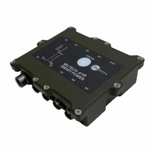 integrated soldier power and data management system (ispds)
